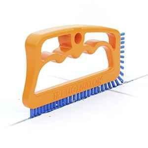 Fugenial «Fuginator®» Brosse pour les joints de la salle de bains, cuisine et le ménage – Nettoie efficacement les joints du carrelage en les débarrassant en surface de la moisissure – Bleu (nettoyage universel)