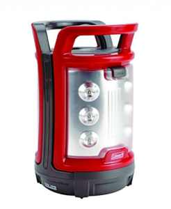 Coleman 2000008548 – Lanterne (Hand Flashlight, LED, 4d, noir, rouge, argent, polycarbonate)