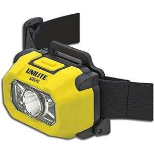 Lampe frontale Unilite ATEX Zone 0 H2 200 lumens