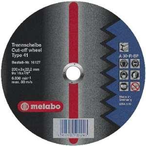 Metabo Disque à tronçonner 115mm métal