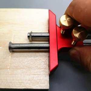 européen à double lame de Scribe, EN BOIS Scribe-line menuiserie Crossed-out Outil outils de travail du bois