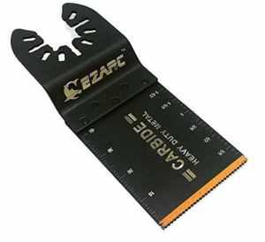EZARC Oscillant Multifonction Lame carbure dents pour matériaux durs, 1-pack