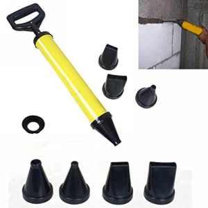 Scellants pistolet pour mortier avec presse-mortier accessoires Seringue de mortier + 4 buse