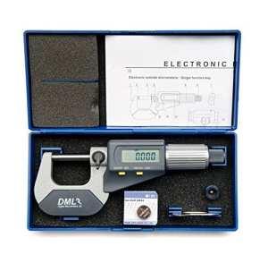 0–25 Micromètre Digital Garantie 12 mois comprend un adaptateur à enclume &fixation Standard