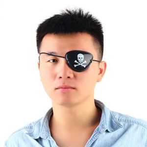 1PC New Arrival Pirate Eye Patch Skull Crossbone Halloween Party Favor Bag Costume Kids Toy Craft Gifts Free Shipping
