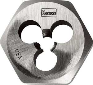Hanson Matrice de filetage hexagonale 10 X 1,5 mm 9740