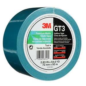 3M 98540 Ruban GT3 72 mmx50 M 11 mil☛, bleu sarcelle, 1