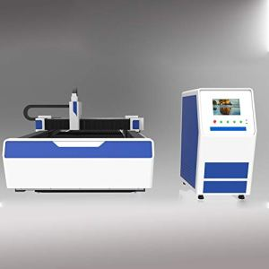 DIHORSE 1000W Fiber Laser Cutting Machine with Exchange Platform for Metal Plate with 1500 * 3000mm Working Size Welding Lathe Bed High Accuracy