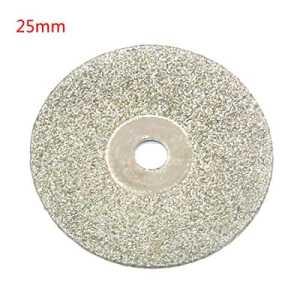 Disques abrasifs d'affûteuse de diamant de disque de coupe pour les outils rotatoires de Dremel 1pc 25mm