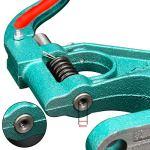 AllRight Presse Manuelle à Crémaillère 3 Oeillet Rivets Pince Poinçonneuse Machine Main Outil Bannière Drapeau Presse Pack de 900