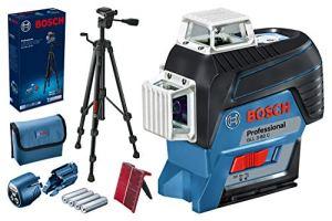 Bosch Professional 0601063R01 Laser Lignes GLL 3-80 C Professional, Bleu