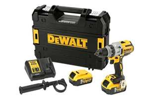 DeWalt DCD991P2-QW Perceuse-visseuse XRP 18V – Moteur sans charbon BRUSHLESS – 2 batteries 18V Lithium-ion 5 Ah – Puissante LED – Chargeur inclus – Mallette TSTAK incluse