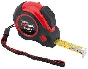 Draper-Redline 69492 3 m/10'autobloquante Ruban de mesure métrique/impérial