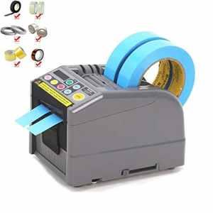 GRASSAIR Distributeur de Ruban électrique – Automatique Machine de Conditionnement de coupeur adhésif pour Distributeur de Ruban électrique, Micro-Ordinateur Automatique de 6~60 mm