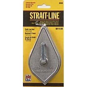 IRWIN Cordes outils Strait-line comporte en aluminium Bobine de craie, 15,2m (63950)