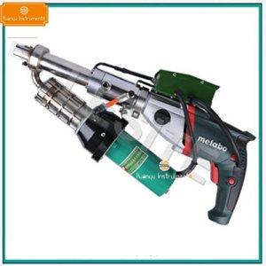 Huanyu Kits de pistolet de soudage à l'air chaud en plastique portatifs d'extrusion LST610 soudant le pistolet de torche de soudeuse de machine pour le plastique de PE PP (LST610D)