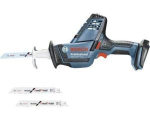 Bosch Professional 06016A5004 GSA 18 V-LI C, Version Solo 18V, Bleu