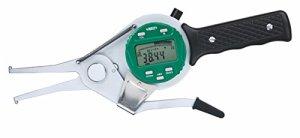 Insize 2151-95Interne coulisse digital Gauge, longueur de bras 100mm, 75-95mm/3-9,7cm, résolution 0,01mm/0cm