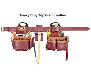 Custom Leathercraft 21453 18 Pkt Leather Combo System