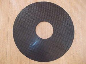 semelle picots, abrasive, multigrip pour plateau monobrosse ou autolaveuse diamètre 430