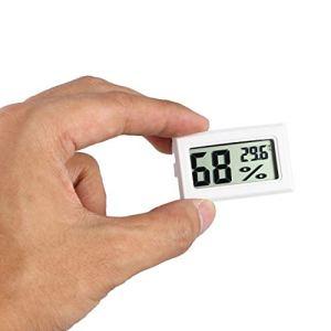Momorain Thermomètre numérique Professionnel LCD Thermomètre Hygromètre Humidité Température Mètre Capteur d'affichage numérique LCD intérieur