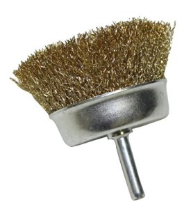 AERZETIX: Brosse métallique pour poncer ponçage métal visseuse perceuse diamètre 75 mm – C1075