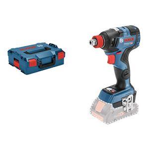 Bosch Professional Visseuse à Chocs Sans Fil GDX 18V-200 C (18 V, Ø de Vissage: M6 – M 16, couple : 200 Nm, L-Boxx)