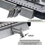 Jauge de contour en plastique avec serrure 25cm jauge de profilé règle de mesure de mesure pour précision de mesure de carrelage outil de marquage du bois stratifié