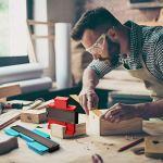 Paquet de 3 jauges de contour en plastique, jauge de profil multifonctionnel règle de mesure duplicateur de contour pour mesure précise professionnelle outil de marquage du bois stratifié