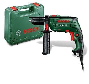 Bosch Perceuse à percussion «Easy» PSB 500 RE à régulation électronique avec coffret 0603127000