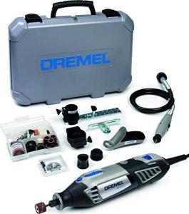Dremel 4000-4/65 Outil rotatif multi-usage (175W) 1 coffret 4 adaptations et 65 accessoires EZ SpeedClic inclus