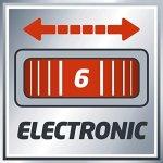 Einhell Ponceuse excentrique TE-RS 18 Li – Solo Power X-Change (Variateur électronique, Système auto-agrippant, Livré avec 1 feuille abrasive) VERSION SOLO LIVRE SANS BATTERIE NI CHARGEUR