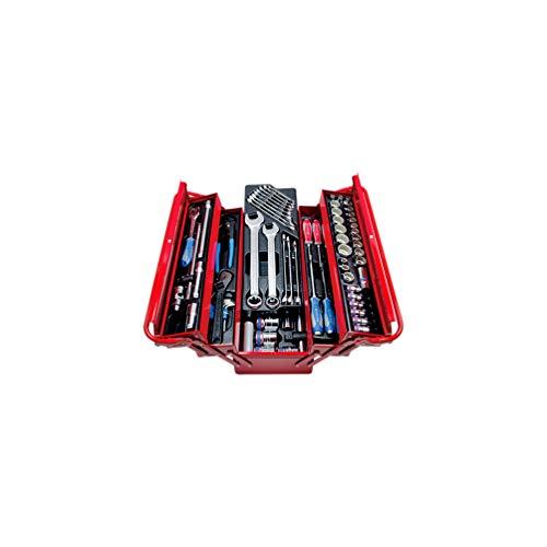 King Tony – Caisse à outils complète – 77 pièces – 220 x 260 x 530 mm