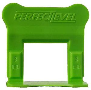 Perfect Level Pro – 500 Clips (Bases) 3 Mm Perfectlevel Pro Croisillon Autonivelant Professionnel