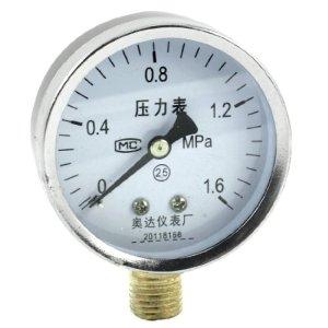 Raccords de compresseur d'air filetage 13 mm 1,6 Mpa Manomètre
