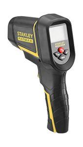 Stanley Fmht0-77422 Détecteur Thermique Gamme FatMax- Détecteur Étanche – Écran LCD Rétroéclairé – Pointeur Laser – Prise De Mesure Sans Contact- Pile 9V
