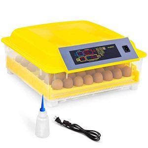 ZFF Egg Incubator Automatique Tournant Digital La Volaille Couvoir avec Température Contrôle Hatcher pour Éclosion Poulet Canard OIE Caille Oiseaux Dinde, 48 Œufs (Size : 110v)