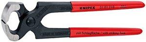 KNIPEX 51 01 210 Tenaille marteau noire atramentisée 210 mm