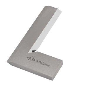 Lame 63Mm X 40mm en forme de L 90° angle maximum carré Règle de mesure outil