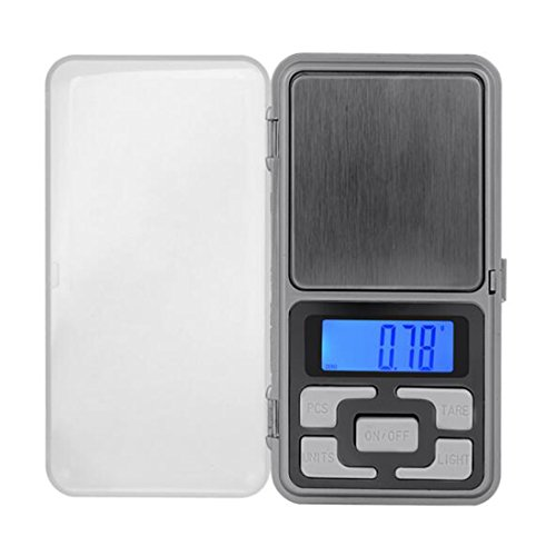 Mini balance numérique de précision 500g 0,01Idéale pour peser pierres, bijoux et autres objets précieux, téléphone Forme
