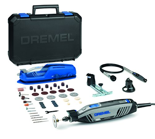 Dremel F0134300JA 4300-3/45 Outil multi-usage 200 W, 3 adaptations, 45 accessoires, 175 W, 230 V, Gris