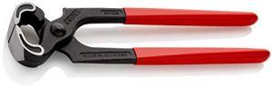 KNIPEX 50 01 225 EAN Tenaille noire atramentisée gainées en plastique 225 mm