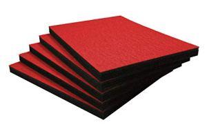 Shadow Foam Easy Peel (600 x 420 mm) – mousse personnalisable pour organiser les boîtes à outils (Cinq Pack (Profondeur de 30mm), Rouge sur noir)