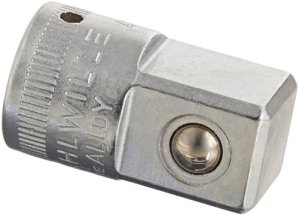 Stahlwille 11030003 11030003-Acoplamiento 1/4″ a 1/2″ 410 Peso 0,04 Kg, Argent, 1/4-1/2-Inch