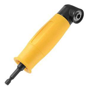 Bestgle 6.35mm Hex Tige Tournevis à Angle Droit Fixation à Angle Droit à 90°Adaptateur de Support d'Extension de Tournevis