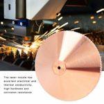 Buse Laser monocouche 1Pc en laiton pour Machine de découpe Laser à fibre CO2 0.8/1.0/1.2/1.4/1.5mm pour precitec Hanslaser SZWorthing Goldenlaser(1.2mm)