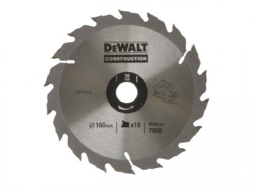 DeWalt DT1142QZ 160 x 20 x 18 dents Lame de scie circulaire Série 30 (Import Grande Bretagne)