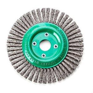 Lessmann 473801EZ Brosse ronde à tête ronde Drm 125 x 6 mm 40 dents ROH 0,50 mm alésage 22,2 mm