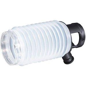 Makita 195173-3 195173-3-Recolector de polvo de 80 mm Con posibilidad de aspiracion Para modelos r2300/HR2600/01/10/11f, Blanc