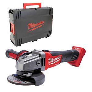 Milwaukee 4933451439 Angle au batterie M18 Cag-125 X/0 + Box HD, Multicolore